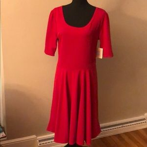 LuLaRoe Red Nicole Dress Size 2XL Brand New